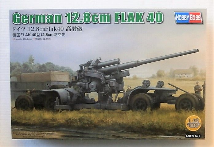 HOBBYBOSS 1/35 84545 GERMAN 12.8CM FLAK 40