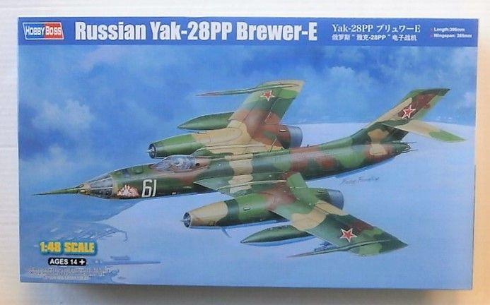 HOBBYBOSS 1/48 81768 RUSSIAN YAK-28PP BREWER-E
