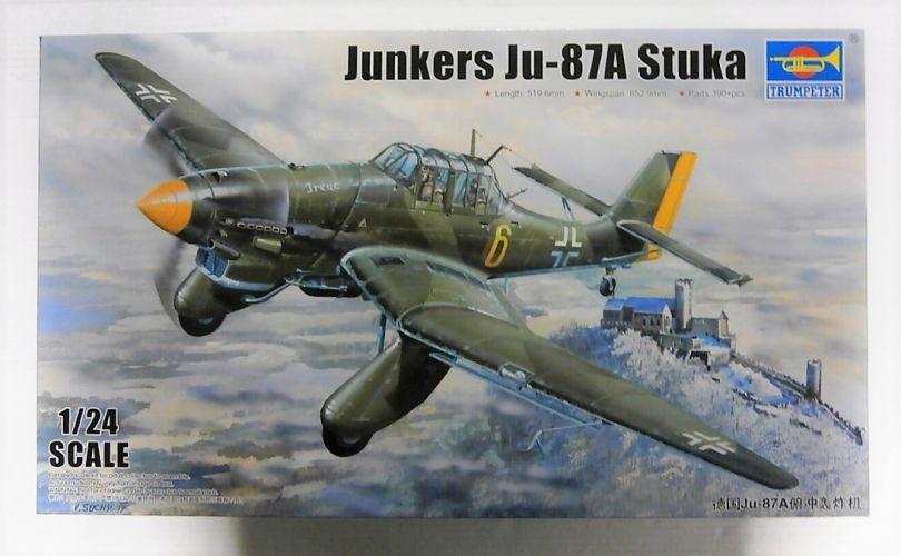 TRUMPETER 1/24 02420 JUNKERS Ju-87A STUKA  UK SALE ONLY