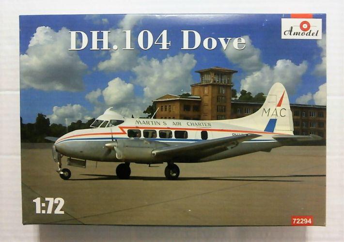 A MODEL 1/72 72294 DH 104 DOVE