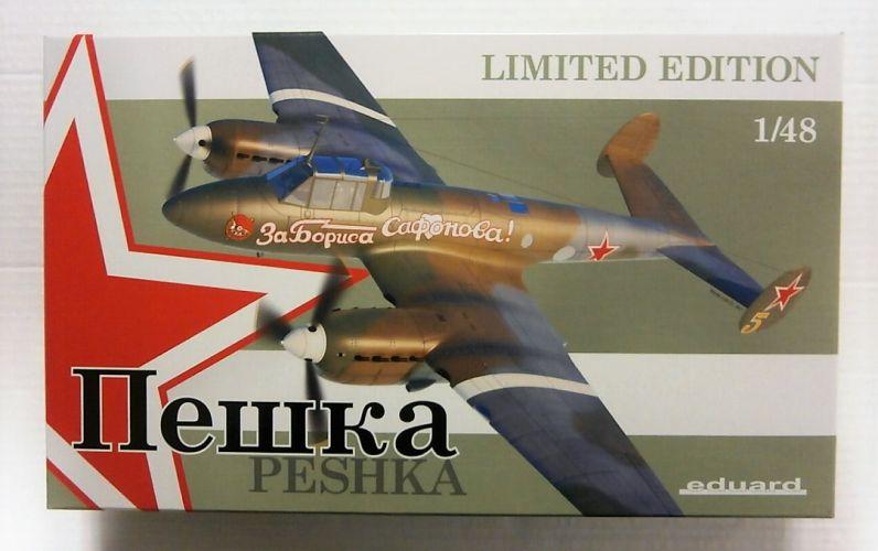 EDUARD 1/48 11112 PETLYAKOV Pe-2 PESHKA LIMITED EDITION