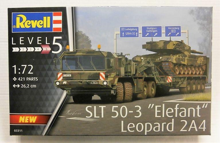 REVELL 1/72 03311 SLT 50-3 ELEFANT LEOPARD 2A4