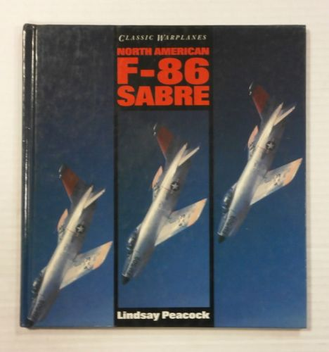 CHEAP BOOKS  ZB990 NORTH AMERICAN F-86 SABRE - LINDSAY PEACOCK