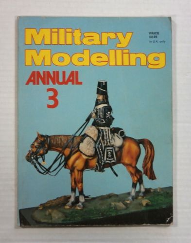 CHEAP BOOKS  ZB1030 MILITARY MODELLING ANNUAL 3