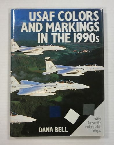 CHEAP BOOKS  ZB1042 USAF COLOURS AND MARKINGS IN THE 1990s