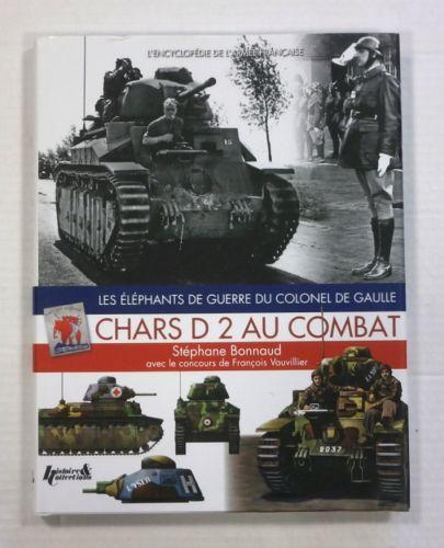 CHEAP BOOKS  ZB1079 CHARS D 2 AU COMBAT  FRENCH TEXT