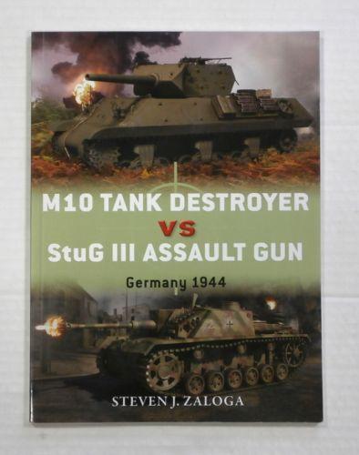 CHEAP BOOKS  ZB1075 M10 TANK DESTROYER VS StuG III ASSAULT GUN