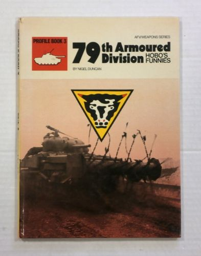 CHEAP BOOKS  ZB1061 PROFILE BOOK 3 - 79TH ARMOURED DIVISION