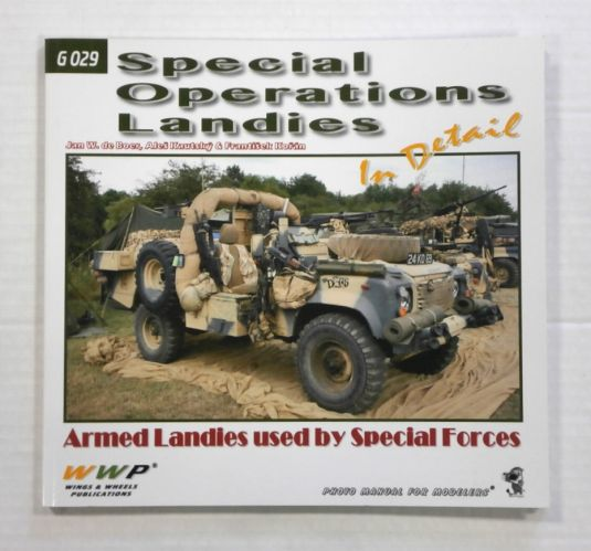 CHEAP BOOKS  ZB1056 G 029 SPECIAL OPERATIONS LANDIES IN DETAIL