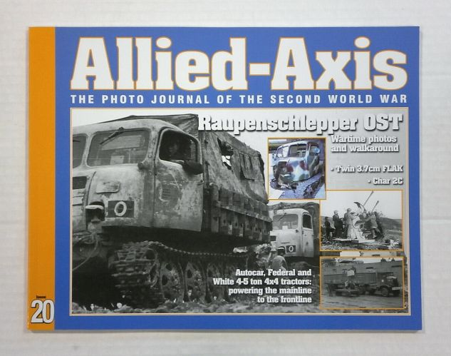 CHEAP BOOKS  ZB1055 ALLIED AXIS - ISSUE 20