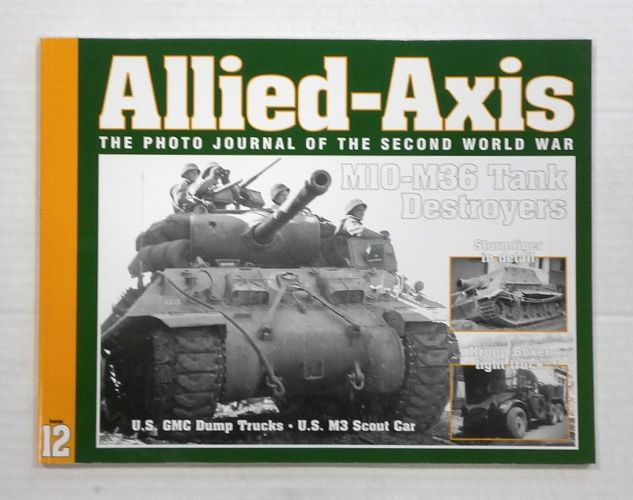 CHEAP BOOKS  ZB1054 ALLIED AXIS - ISSUE 12