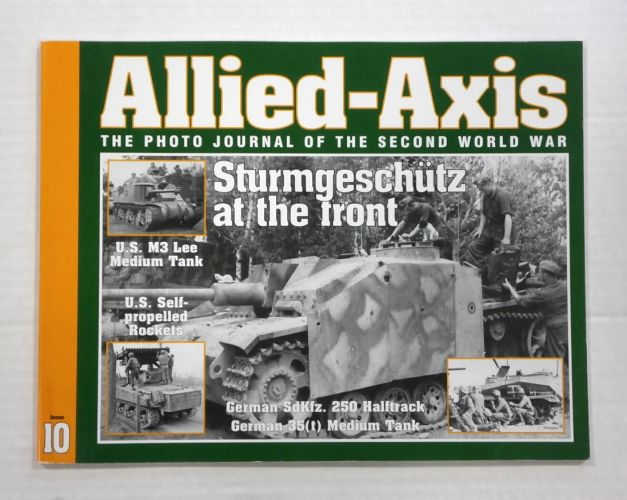 CHEAP BOOKS  ZB1053 ALLIED AXIS - ISSUE 10
