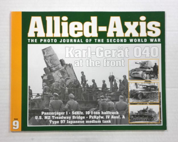 CHEAP BOOKS  ZB1052 ALLIED AXIS - ISSUE 9