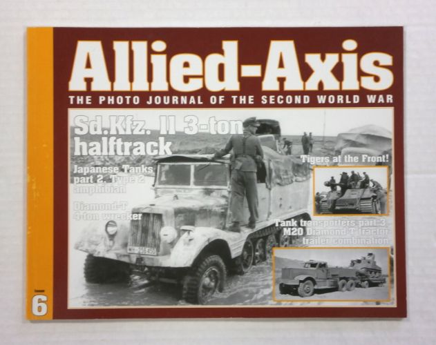 CHEAP BOOKS  ZB1050 ALLIED AXIS - ISSUE 6