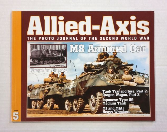CHEAP BOOKS  ZB1049 ALLIED AXIS - ISSUE 5