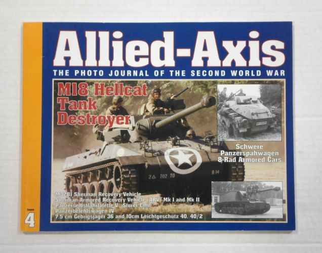 CHEAP BOOKS  ZB1048 ALLIED AXIS - ISSUE 4