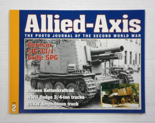 CHEAP BOOKS  ZB1046 ALLIED AXIS - ISSUE 2