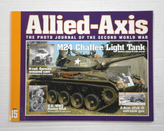 CHEAP BOOKS  ZB1045 ALLIED AXIS - ISSUE 15