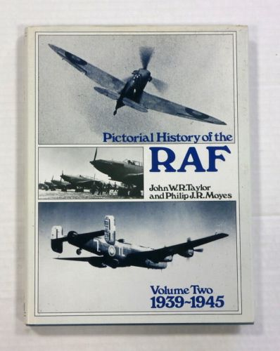 CHEAP BOOKS  ZB1086 PICTORAL HISTORY OF THE RAF VOL 2 1939 - 1945