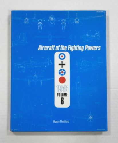 CHEAP BOOKS  ZB1085 AIRCRAFT OF THE FIGHTING POWERS 1946 VOL 6