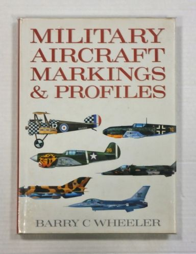 CHEAP BOOKS  ZB1082 MILITARY AIRCRAFT MARKINGS AND PROFILES
