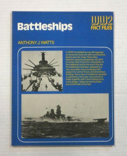 CHEAP BOOKS  ZB1081 WW2 FACT FILES - BATTLESHIPS