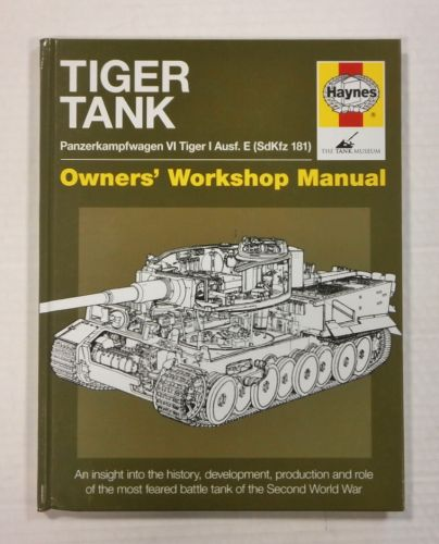 CHEAP BOOKS  ZB1144 HAYNES TIGER TANK
