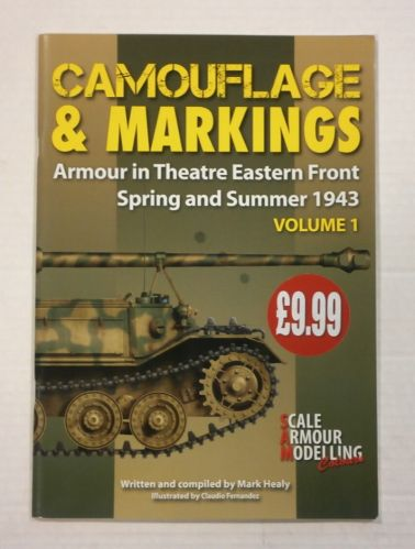 CHEAP BOOKS  ZB1143 CAMOUFLAGE AND MARKINGS ARMOUR IN THEATRE EASTERN FRONT SPRING AND SUMMER 1943