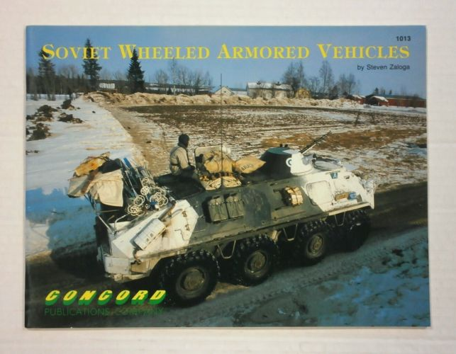 CHEAP BOOKS  ZB1141 SOVIET WHEELED ARMORED VEHICLES