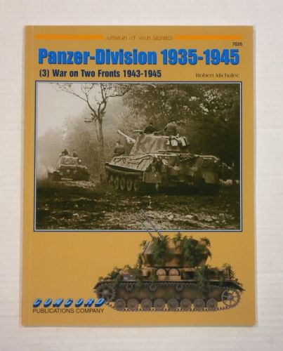 CHEAP BOOKS  ZB1131 PANZER DIVISION 1935-1945 WAR ON TWO FRONTS