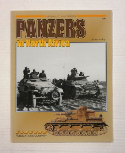 CHEAP BOOKS  ZB1130 PANZERS IN NORTH AFRICA