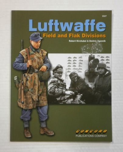 CHEAP BOOKS  ZB1115 LUFTWAFFE FIELD AND FLAK DIVISIONS