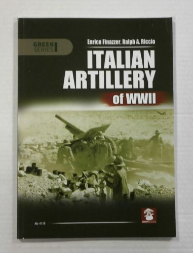 CHEAP BOOKS  ZB1110 ITALIAN ARTILLERY OF WWII