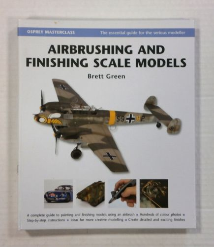 CHEAP BOOKS  ZB1104 AIRBRUSHING AND FINISHING SCALE MODELS