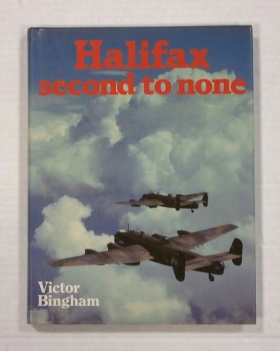 CHEAP BOOKS  ZB1154 HALIFAX SECOND TO NONE - VICTOR BINGHAM