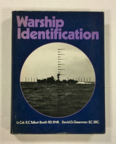 CHEAP BOOKS  ZB1091 WARSHIP IDENTIFICATION