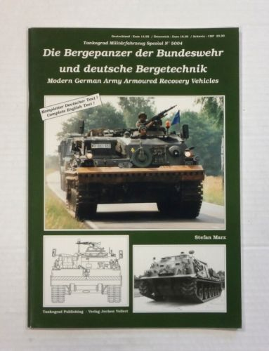 TANKOGRAD  5004 MODERN GERMAN ARMY ARMOURED RECOVERY VEHICLES