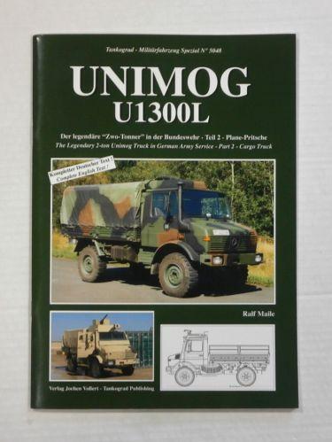 TANKOGRAD  5048 THE LEGENDARY 2 TON UNIMOG TRUCK IN GERMAN ARMY SERVICE PART 2 CARGO TRUCK