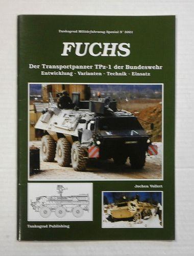 TANKOGRAD  5001 FUCHS  GERMAN TEXT