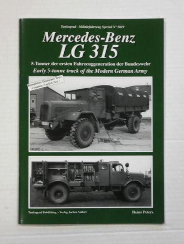 TANKOGRAD  5019 MERCEDES BENZ LG 315