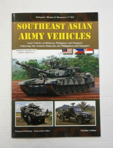 TANKOGRAD  7014 SOUTHEAST ASIAN ARMY VEHICLES