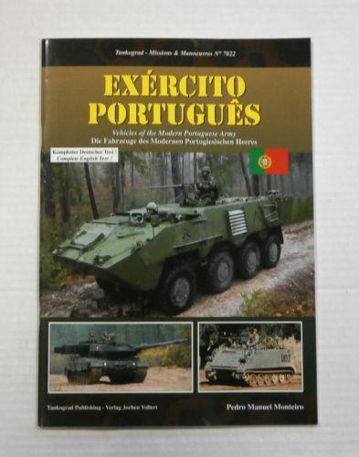 TANKOGRAD  7022 EXERCITO PORTUGUES VEHICLES OF THE MODERN PORTUGUESE ARMY