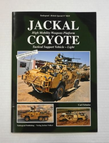 TANKOGRAD  9019 JACKAL HIGH MOBILITY WEAPONS PLATFORM COYOTE TACTICAL SUPPORT VEHICLE LIGHT