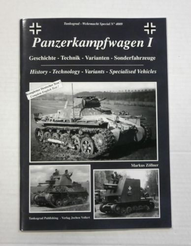 TANKOGRAD  4009 PANZERKAMPFWAGEN I