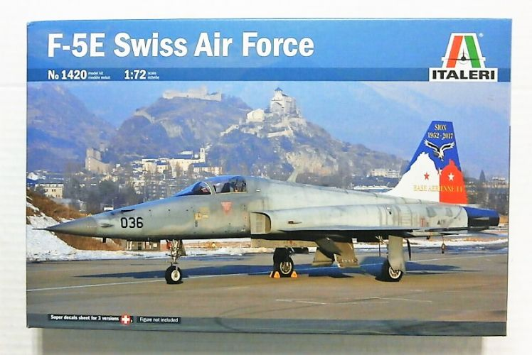 ITALERI 1/72 1420 F-5E SWISS AIR FORCE