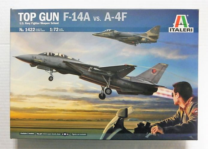 ITALERI 1/72 1422 TOP GUN US NAVY FIGHTER WEAPON SCHOOL F-14A vs A-4F