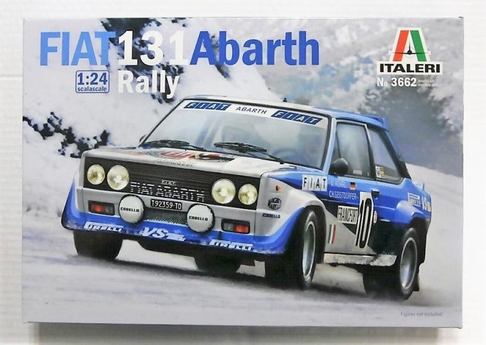 ITALERI 1/24 3662 FIAT 131 ABARTH RALLY