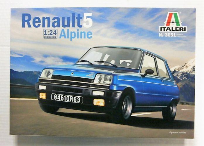 ITALERI 1/24 3651 RENAULT 5 ALPINE