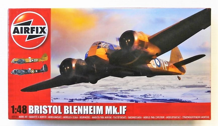 AIRFIX 1/48 09186 BRISTOL BLENHEIM MK.IF