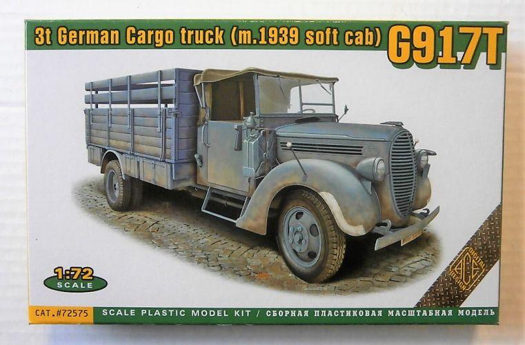 ACE 1/72 72575 G917T 3T GERMAN CARGO TRUCK